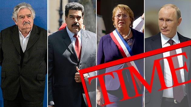 Putin, Maduro y Mujica, entre las 100 personas más influyentes, según 'Time'