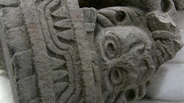Hallan en México la mayor escultura del dios más antiguo de los indígenas de Mesoamérica