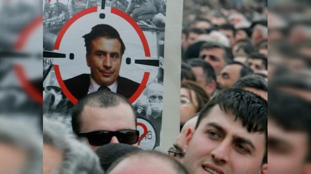 Una televisión georgiana crea una invasión rusa de este país