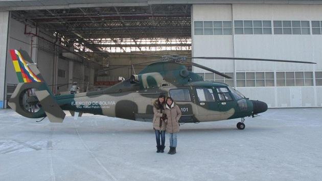 Publican la foto del primer helicóptero chino para el Ejército de Bolivia