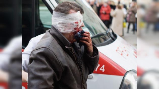 Explosión en metro de Minsk: videos de  testigos desde el lugar de los hechos