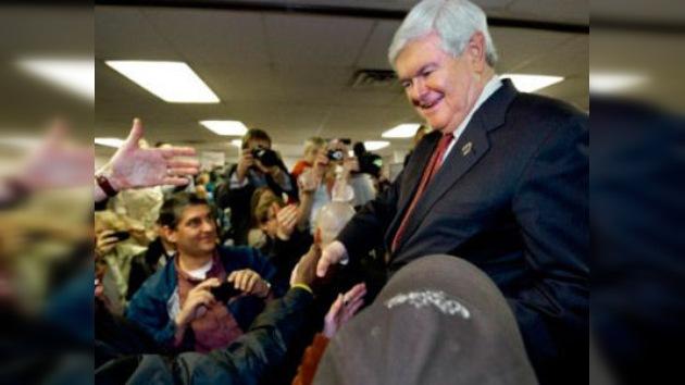 Newt Gingrich gana las primarias en Carolina del Sur