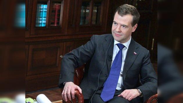 """Medvédev: """"Libia se encuentra ante el peligro de dejar de ser un Estado viable"""""""