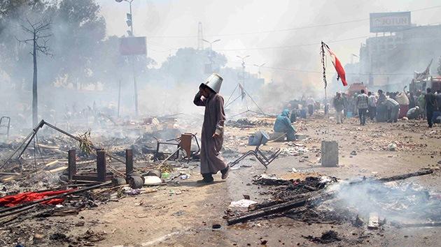"""""""Guerra civil"""" y """"colapso económico"""": los expertos predicen el futuro de Egipto"""