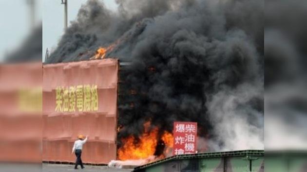 Un simulacro recrea en Taiwán un desastre nuclear similar al de Fukushima