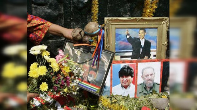 Chamanes peruanos vaticinan la suerte de presidentes y famosos en 2010