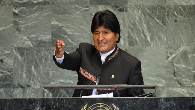 """Evo Morales: """"El primer terrorista en el mundo es el Gobierno de EE.UU."""""""
