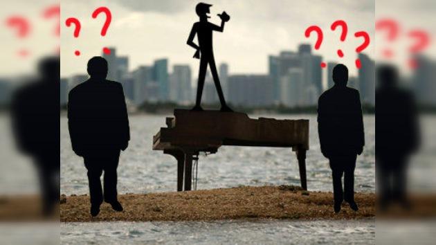 La lucha por la autoría del misterioso piano colocado en el mar en Miami