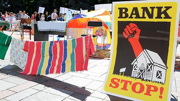¿A la española? Ucrania podría desahuciar gente para recibir el préstamo del FMI