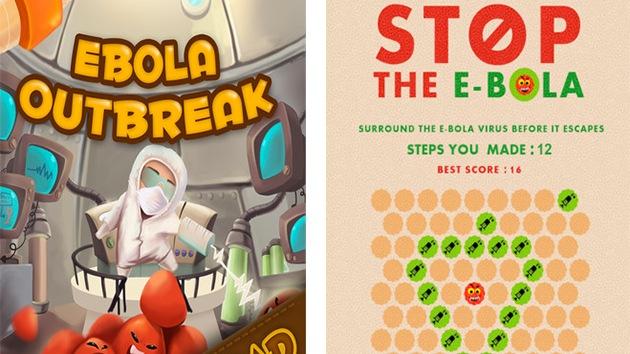 Mientras el ébola se cobra vidas proliferan las aplicaciones inspiradas en el virus