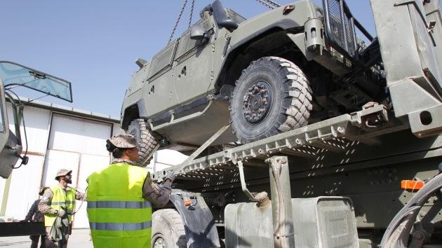 """España realiza la """"gran operación del repliegue"""" de su Ejército de Afganistán"""