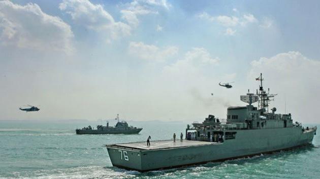 Irán, dispuesto a enviar buques al Atlántico