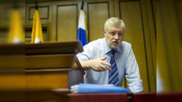 El candidato Mirónov aboga por elegir a los jueces en votaciones generales