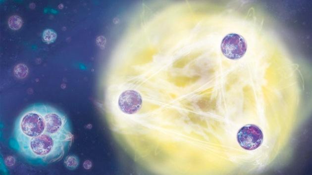 Una rara 'teoría de tríos' de un físico soviético se confirma 40 años después