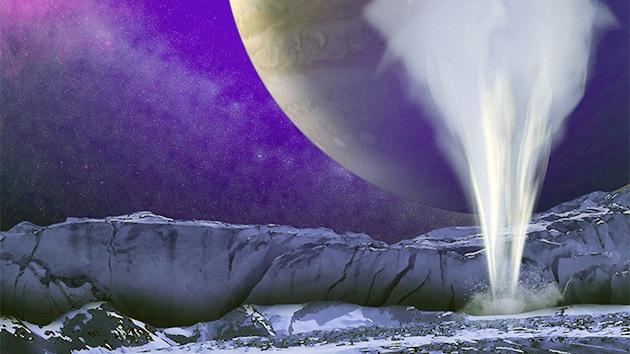 La desaparición de los géiseres gigantes de una luna de Júpiter desconcierta a los científicos