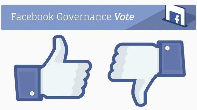 Facebook somete a voto su política de privacidad