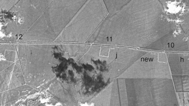 Descubren murallas romanas en antiguas fotos espía desclasificadas de Rumanía