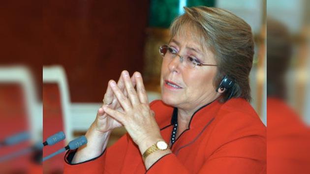 La presidenta chilena será nombrada portavoz de Unifem para Haití