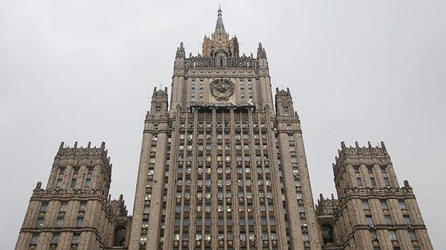 """Cancillería rusa: """"Tendremos que responder a las posibles sanciones de EE.UU."""""""