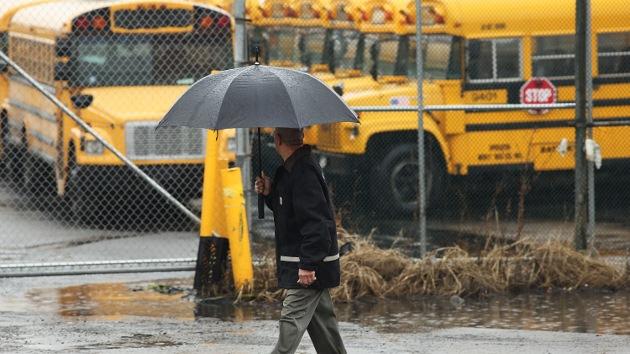Los conductores de buses escolares en Nueva York, en la huelga más grande en 35 años