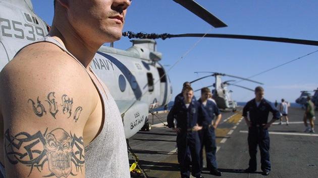 Científicos del Pentágono buscan un tatuaje que rastree los signos vitales de las tropas