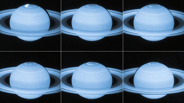 El telescopio Hubble resuelve el misterio de las auroras de Saturno