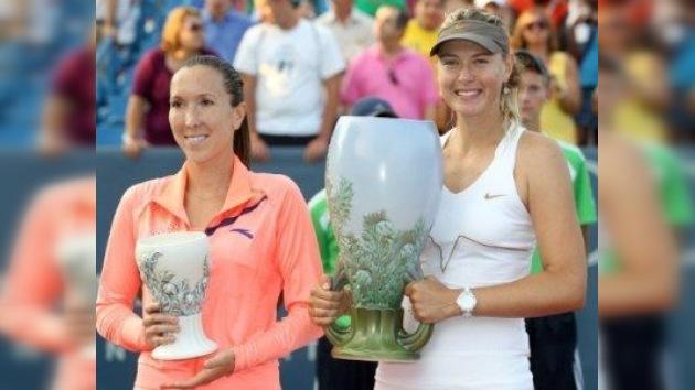 Sharápova gana la final de Cincinnati tras imponerse a la serbia Jankovic