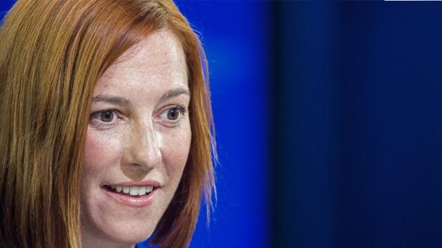 El Ministerio de Defensa ruso aconseja a Jen Psaki consultar un atlas