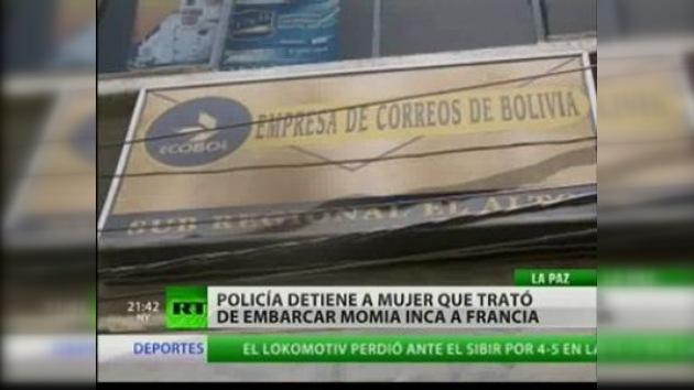 Una momia detenida en la frontera boliviana