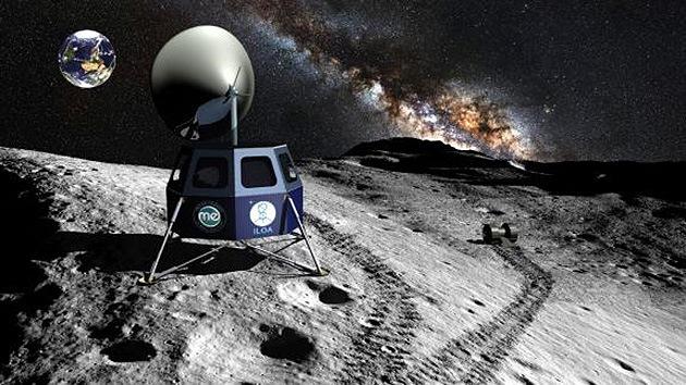 Un proyecto privado pretende enviar la primera misión al polo sur de la Luna