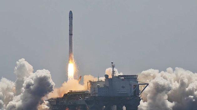 El cohete portador ruso-ucraniano puso en órbita el satélite europeo de comunicaciones
