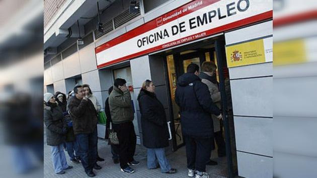 El paro no se mueve de España