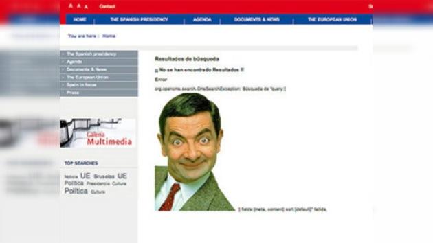 Ataque cibernético a página de la presidencia española de la UE