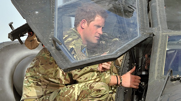 El Príncipe Harry mató a un líder talibán
