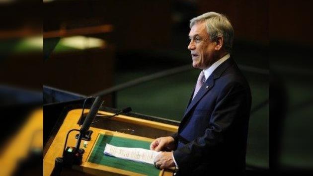 Piñera pide nuevas instituciones internacionales para un mundo nuevo