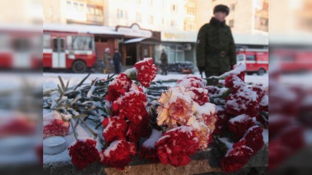 Rusia sigue recibiendo condolencias por la tragedia en Perm