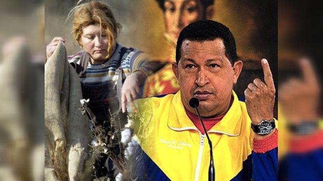 Hugo Chávez devuelve al pueblo de Venezuela su tierra