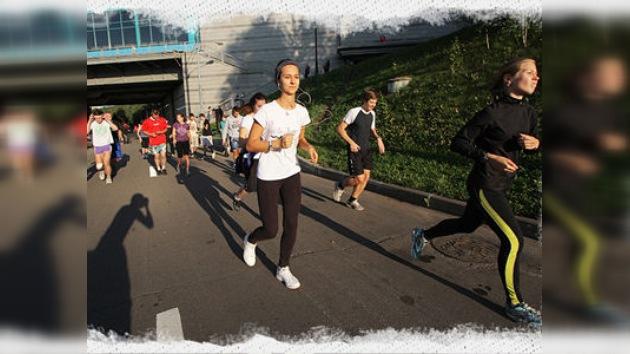 17.000 personas han participado en la Run Moscow 2011