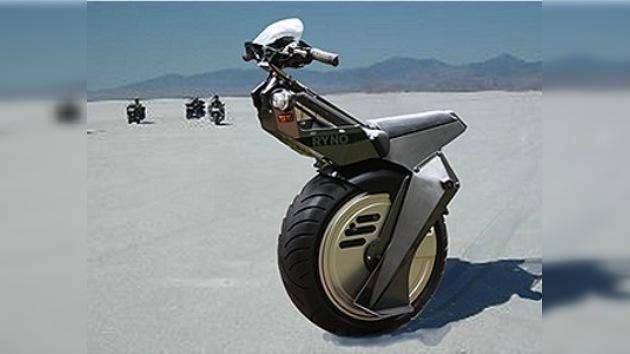 La motocicleta de una sola rueda: potente, cómoda y ecológica