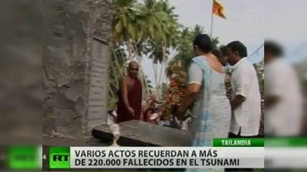 Asia recuerda a las víctimas del tsunami de 2004