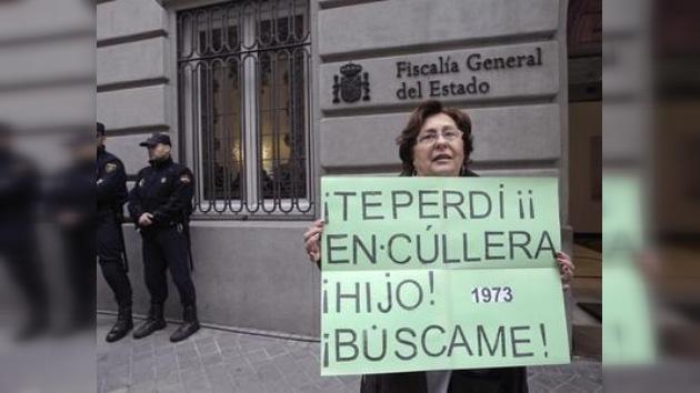Protestas contra el archivo de casos de robos de bebés en España