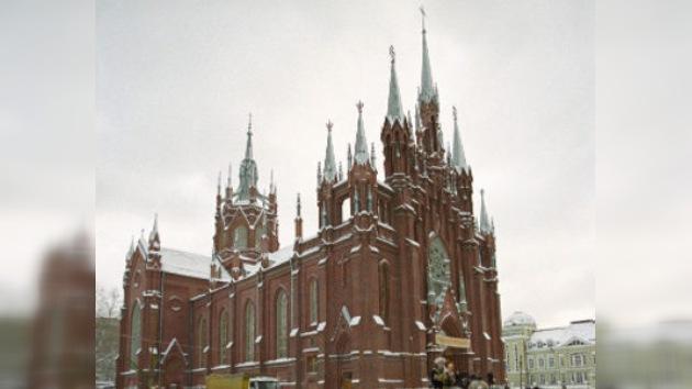 Misas en castellano en pleno centro de Moscú