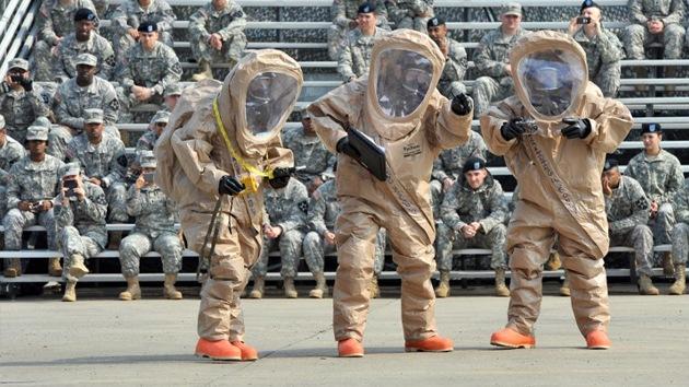 EE.UU. prepara un batallón químico contra posibles ataques de Corea del Norte