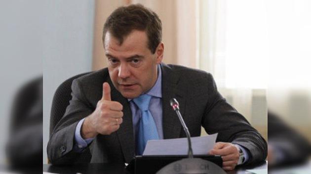 Medvédev: El mito de la seguridad euroatlántica debe hacerse realidad