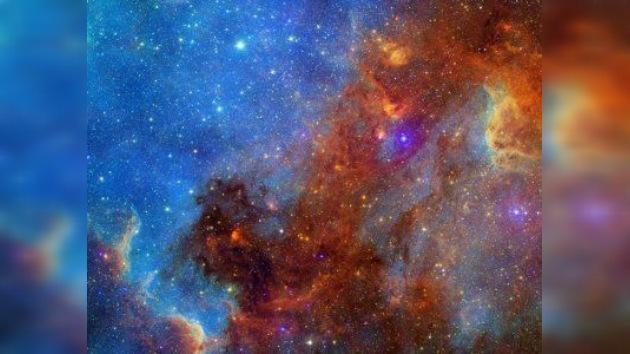 Los astrónomos tomaron fotos de una nebulosa, donde nacen estrellas