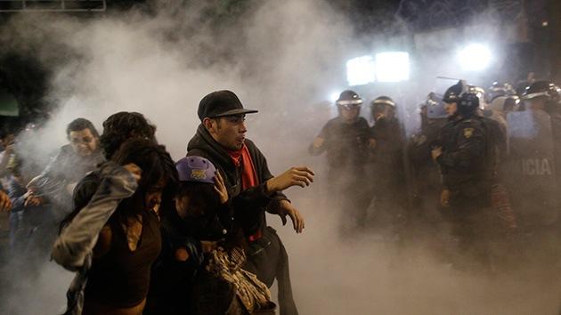 México: Graban a un funcionario capitalino infiltrado en disturbios del 1 de diciembre