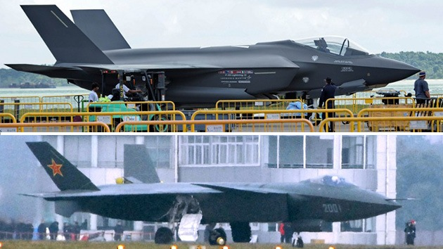 China utiliza tecnología robada del caza estadounidense F-35 en su nuevo J-20