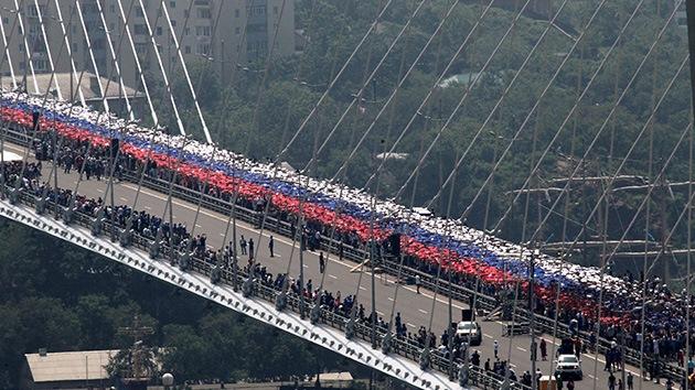 Video: Rusia se lleva el Guinness del 'flashmob' más masivo del mundo