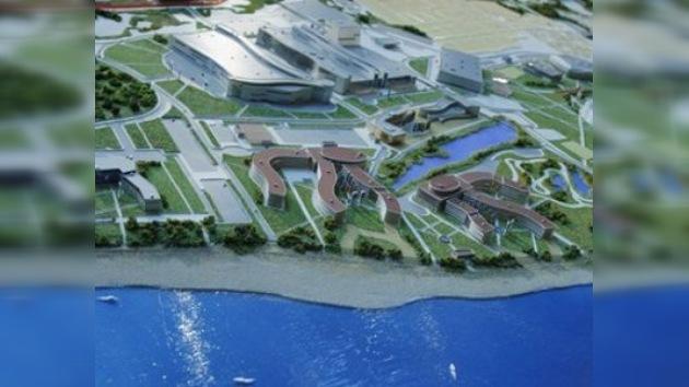 La construcción de instalaciones olímpicas en Sochi avanza con éxito