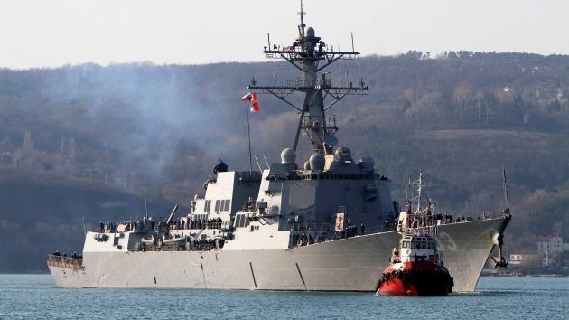El segundo destructor de EE.UU. toma rumbo desconocido en el mar Negro